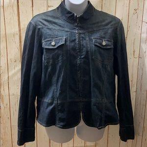 ⚡️ 3/$15 Venezia Denim Peplum Jacket